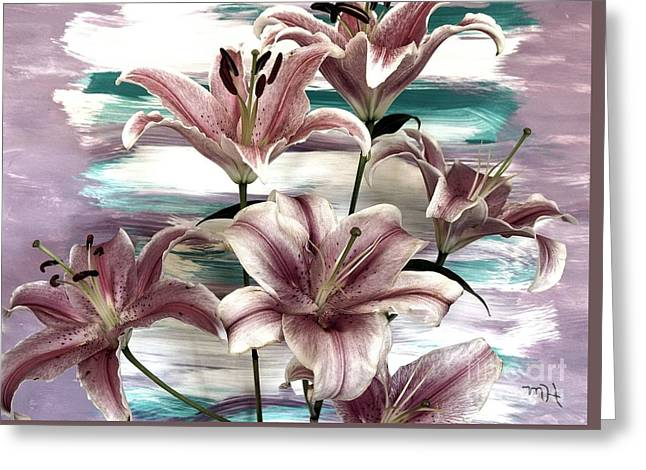 Lilies That Soothe Me Greeting Card