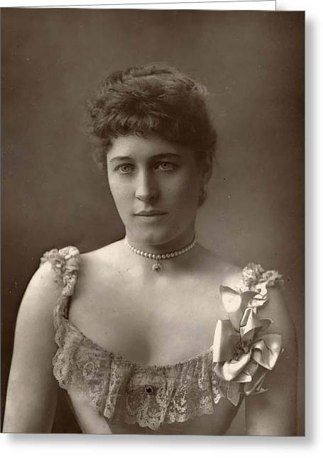 Lillie Langtry Greeting Card