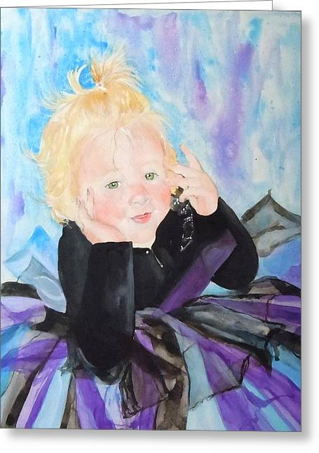 Jean Blackmer Greeting Cards - Lily Greeting Card by Jean Blackmer