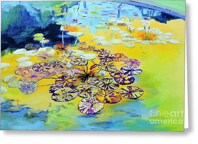 Lily Pad Dreams Greeting Card