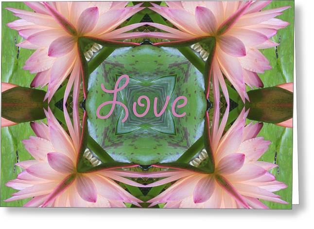 Lily Pad Love Greeting Card