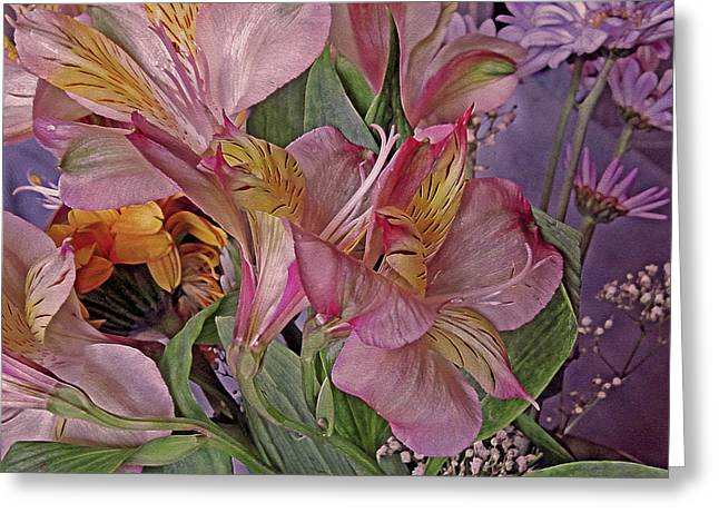 Lily Profusion 7 Greeting Card