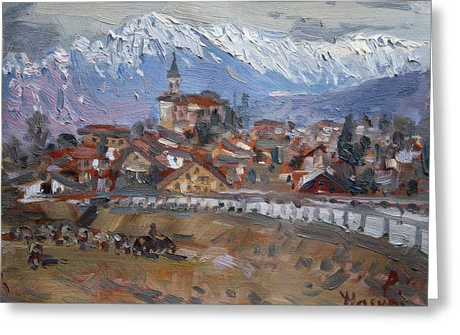 Limana, Belluno, Italy Greeting Card