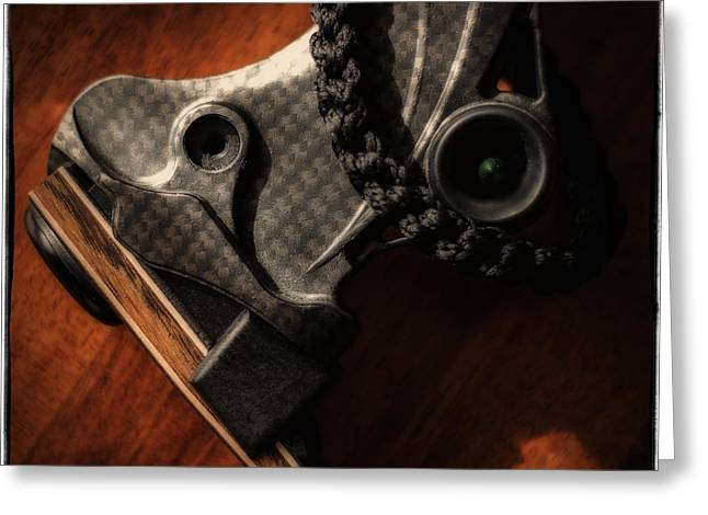 Greeting Card featuring the photograph Limb Pocket by Tim Nichols