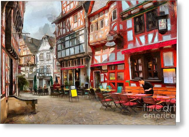 Limburg An Der Lahn Greeting Card