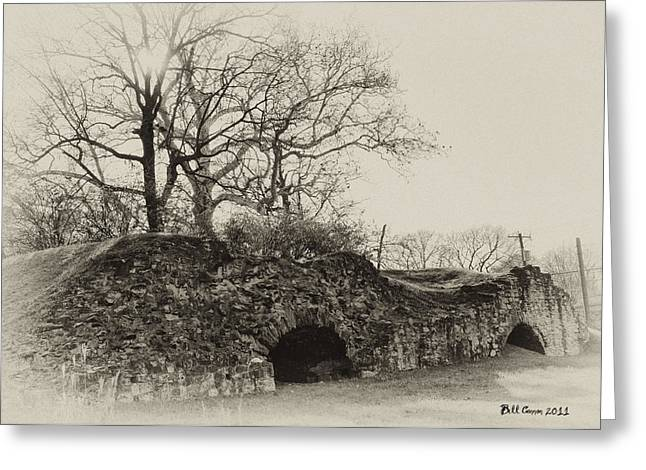 Kiln Greeting Cards - Lime Kilns at Plymouth Meeting Greeting Card by Bill Cannon