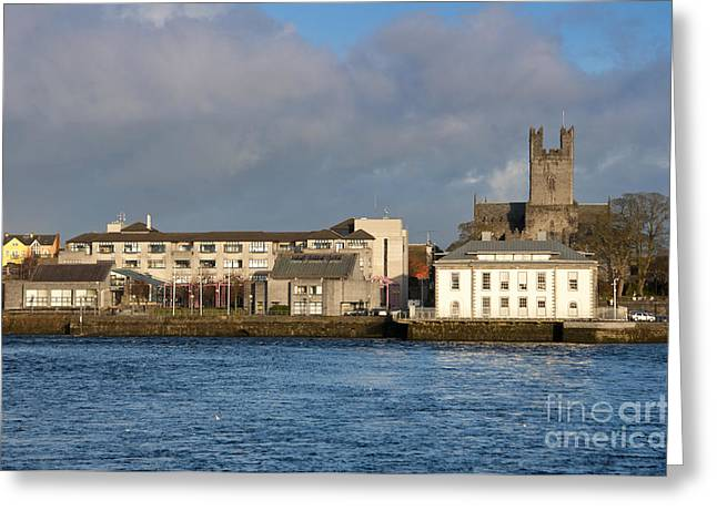 Limerick City Hall Greeting Card by Andrew  Michael