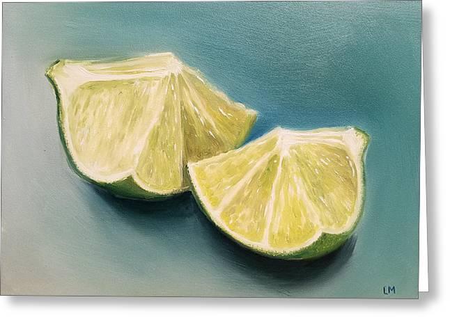 Limes Greeting Card