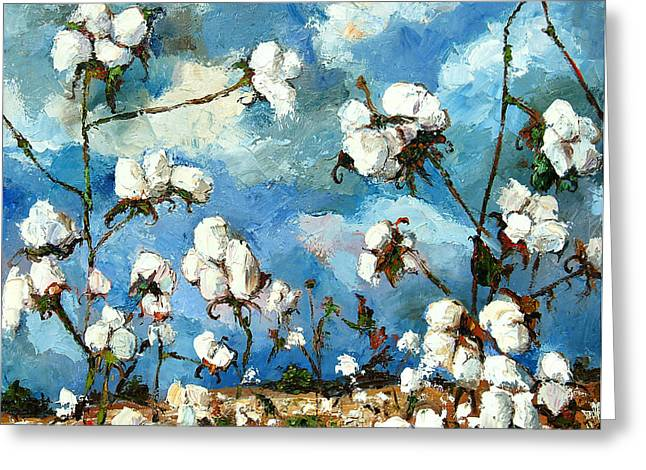 Limestone County Cotton Greeting Card