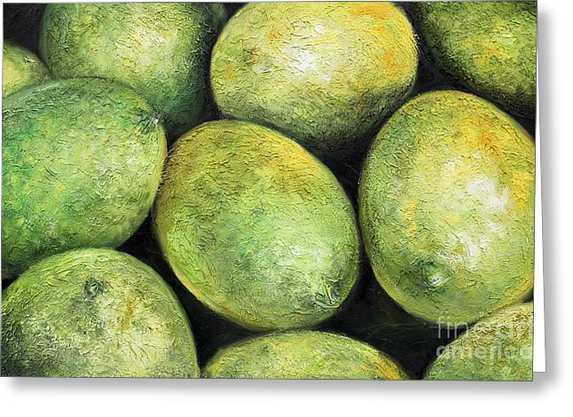 Limones Greeting Card