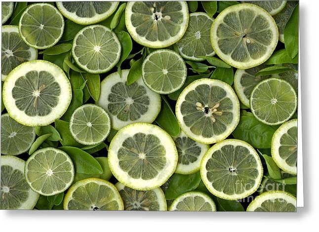 Limons Greeting Card