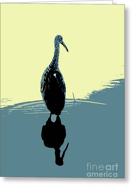 Limp Kin In Color Greeting Card by David Lee Thompson