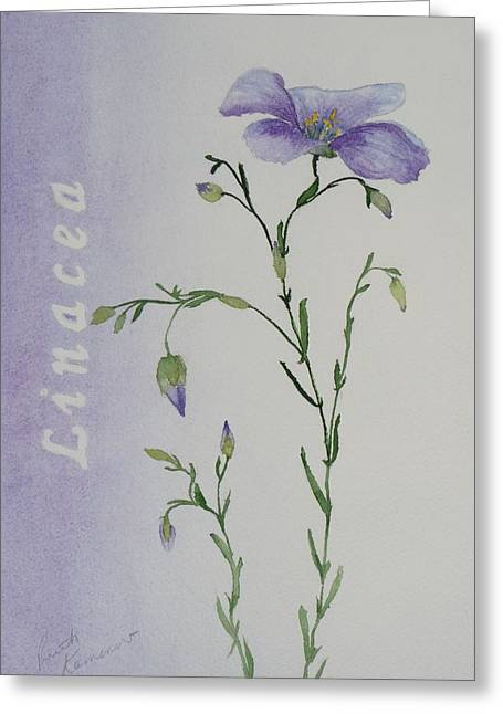 Linacea Greeting Card