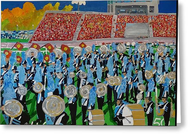 Lincoln Band Greeting Card by Rodger Ellingson