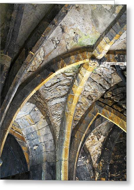 Lincoln Castle England Greeting Card by Tom  Wray
