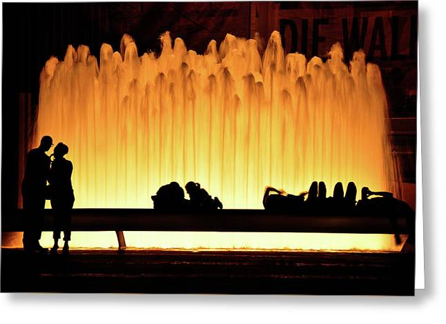 Lincoln Center Fountain Greeting Card