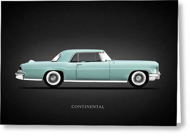 Lincoln Continental Mk2 1956 Greeting Card