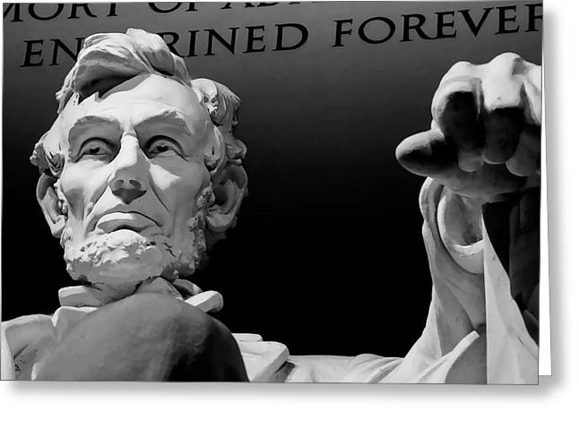 Lincoln Enshrined Forever Greeting Card