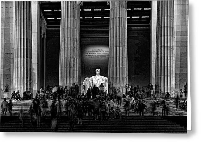Lincoln Memorial # 5 Greeting Card