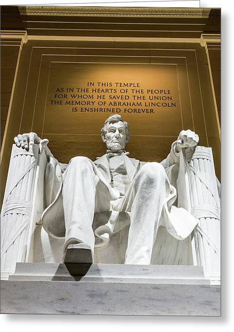 Lincoln Memorial 2 Greeting Card