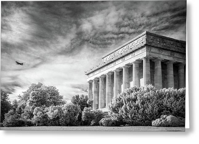 Lincoln Memorial Greeting Card by Paul Seymour