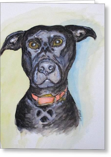 Linda's Doggie Greeting Card
