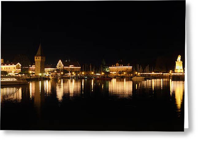 Lindau Greeting Card by Marc Huebner