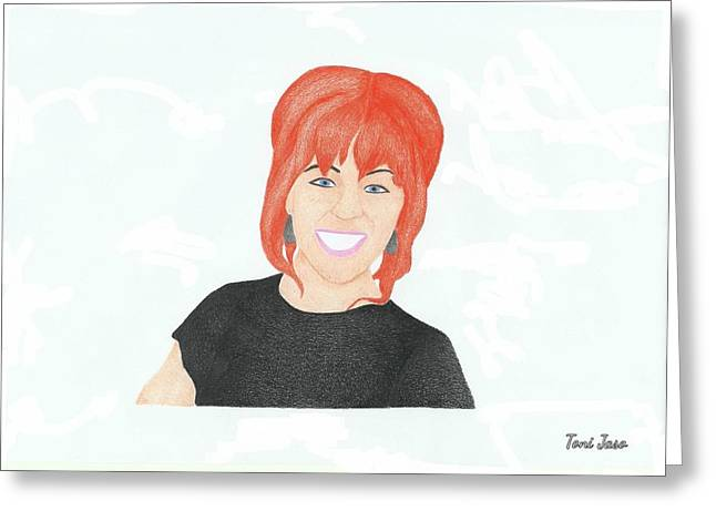 Lindsey Stirling Greeting Card