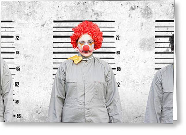 Line Up Of The Usual Suspects Greeting Card by Jorgo Photography - Wall Art Gallery