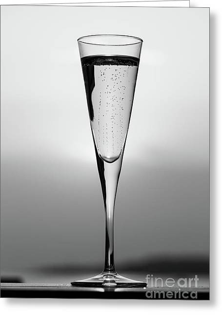 Lines And Bubbles Greeting Card