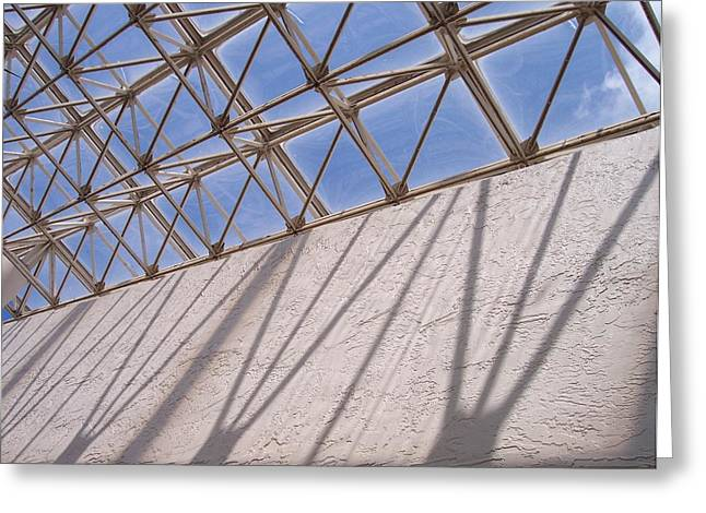 Lines And Shadows IIi Greeting Card by Anna Villarreal Garbis
