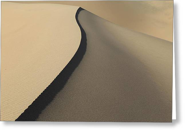 Lines In The Sand. Greeting Card