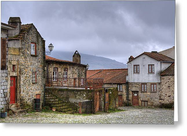 Linhares Greeting Card by Andre Goncalves