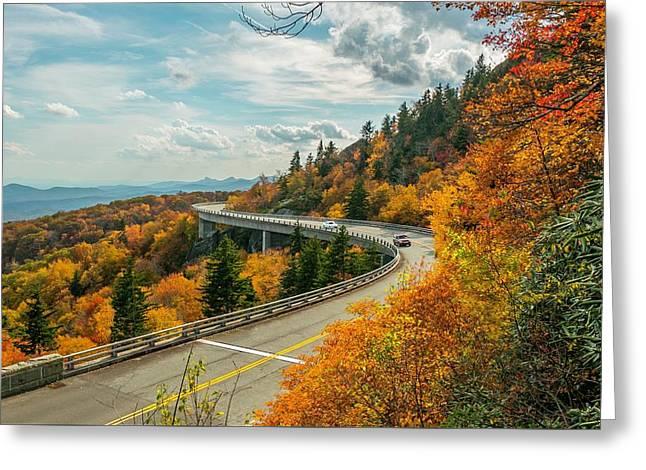 Linn Cove Viaduct Greeting Card