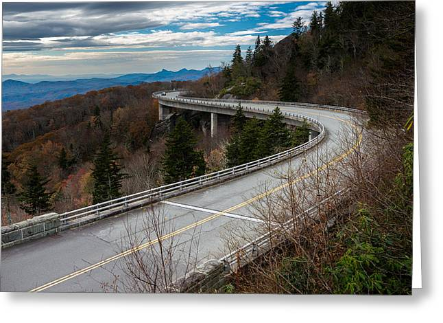 Linn Cove Viaduct Late Fall Greeting Card