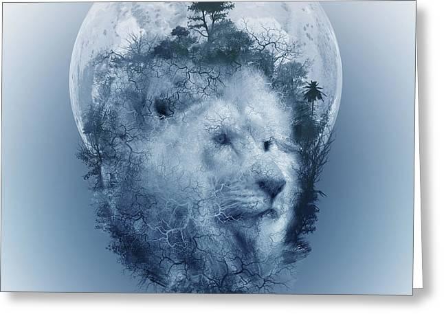 Lion 2 Greeting Card