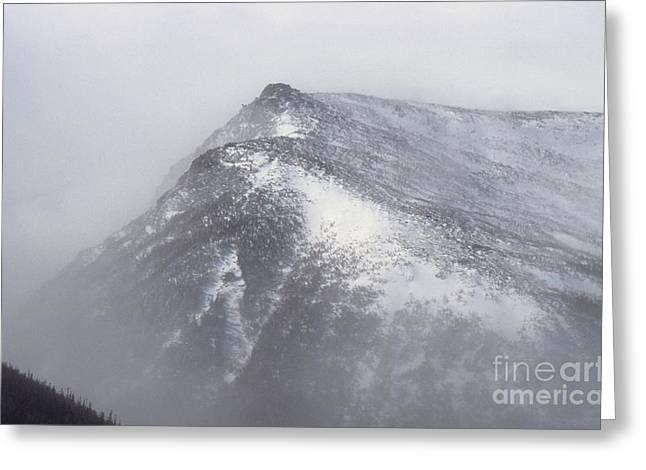 Lion Head - Mount Washington New Hampshire Greeting Card