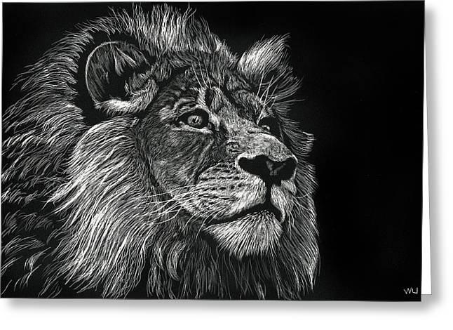 Lion Iv Greeting Card