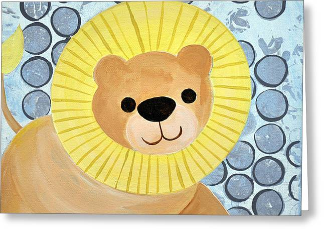 The Blessing Of The Lion Greeting Card