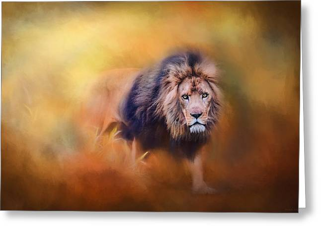 Lion - Pride Of Africa 3 - Tribute To Cecil Greeting Card