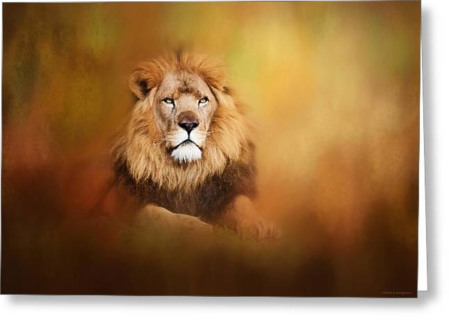 Lion - Pride Of Africa I - Tribute To Cecil Greeting Card
