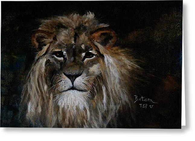 Sargas The Lion Greeting Card