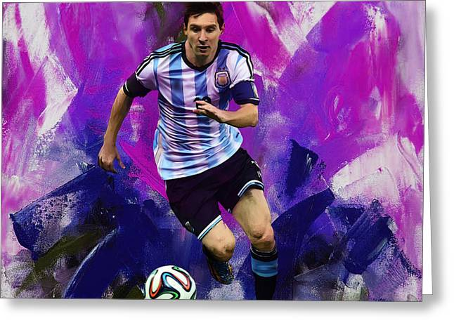 Lionel Messi 094g Greeting Card