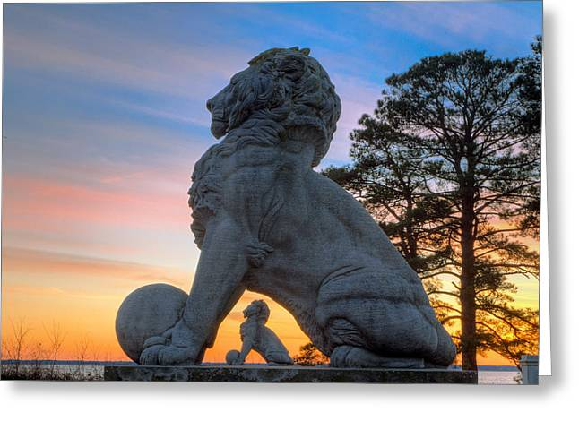Lions Bridge At Sunset Greeting Card