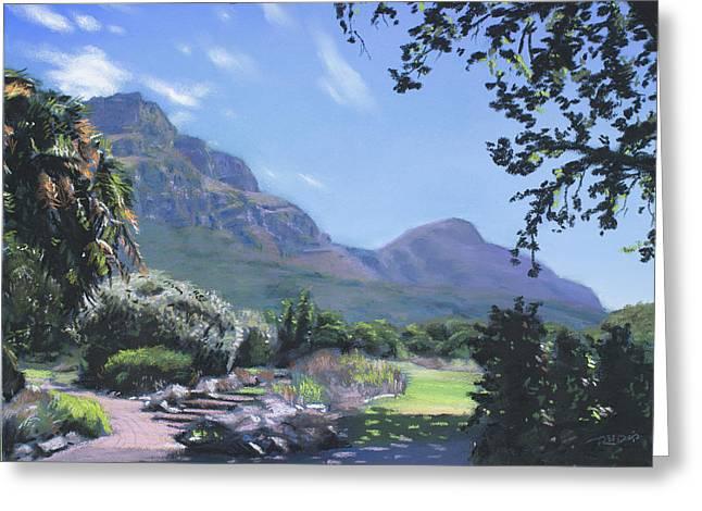 Kirstenbosch View Greeting Card