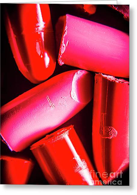 Lipgloss And Letdown Greeting Card by Jorgo Photography - Wall Art Gallery