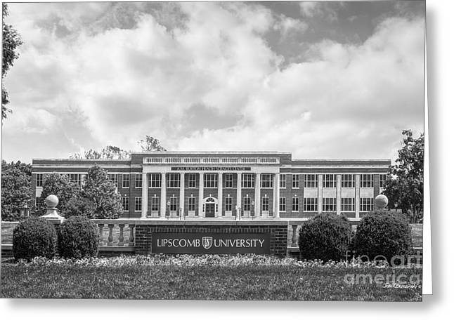Lipscomb University Burton Health Sciences Center Greeting Card by University Icons