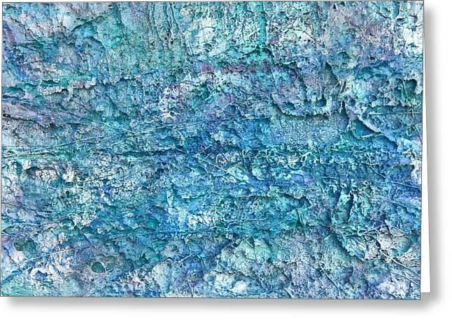 Liquid Abstract #22617 Greeting Card