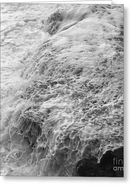 Liquid Edge. 2 Greeting Card by Paul Davenport