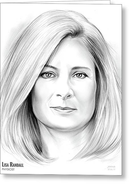Lisa Randall Greeting Card
